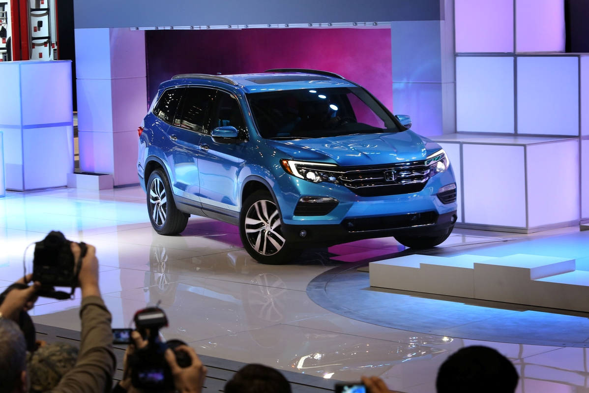 ​All-New 2016 Honda Pilot Makes World Debut