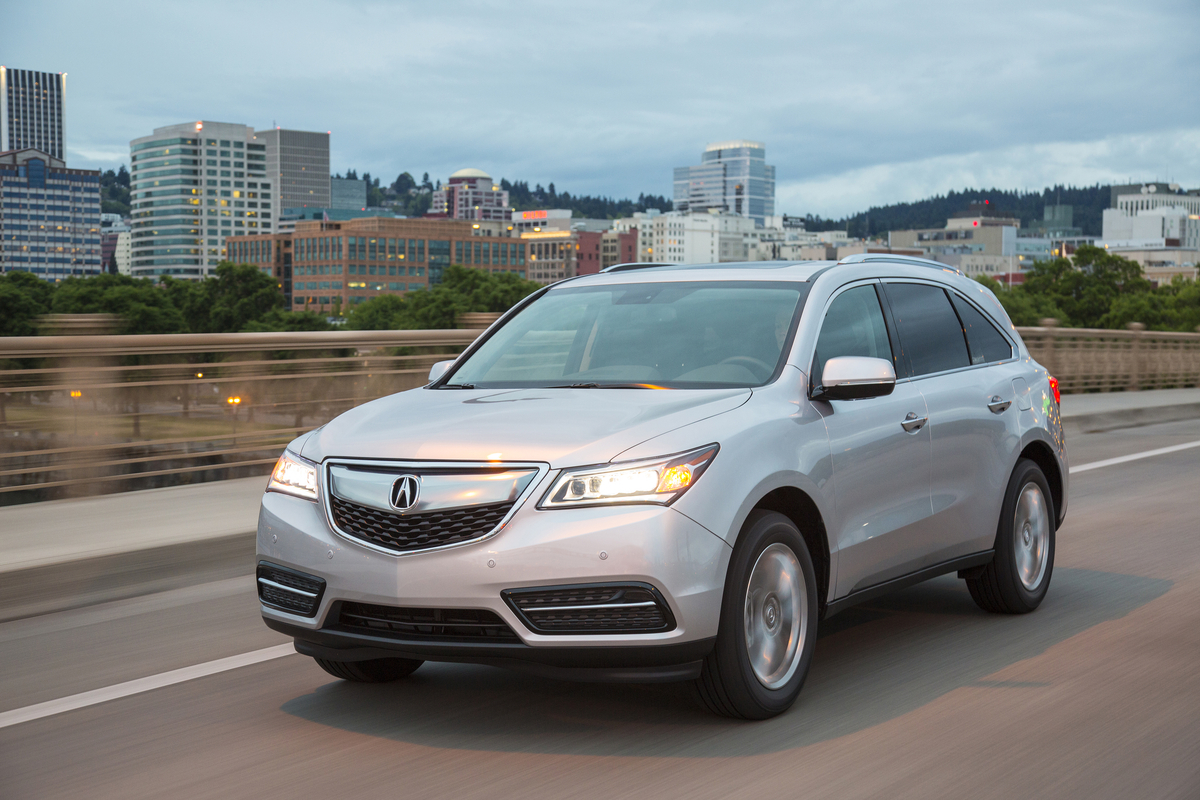 ​Acura MDX, TLX and RDX take home 2016 Consumer Guide Automotive Best Buy Awards