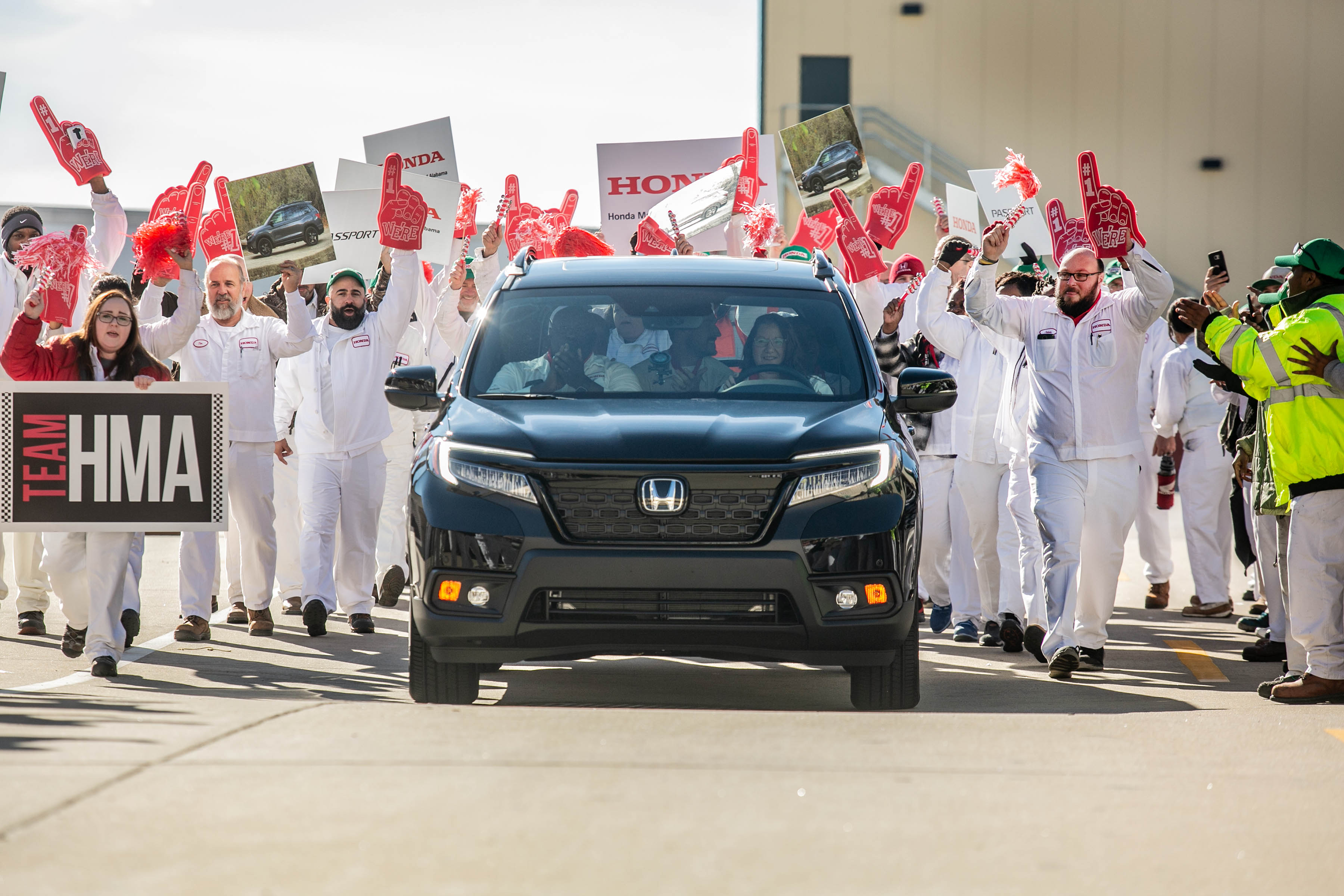 Honda Begins Production of All-New 2019 Passport in Alabama