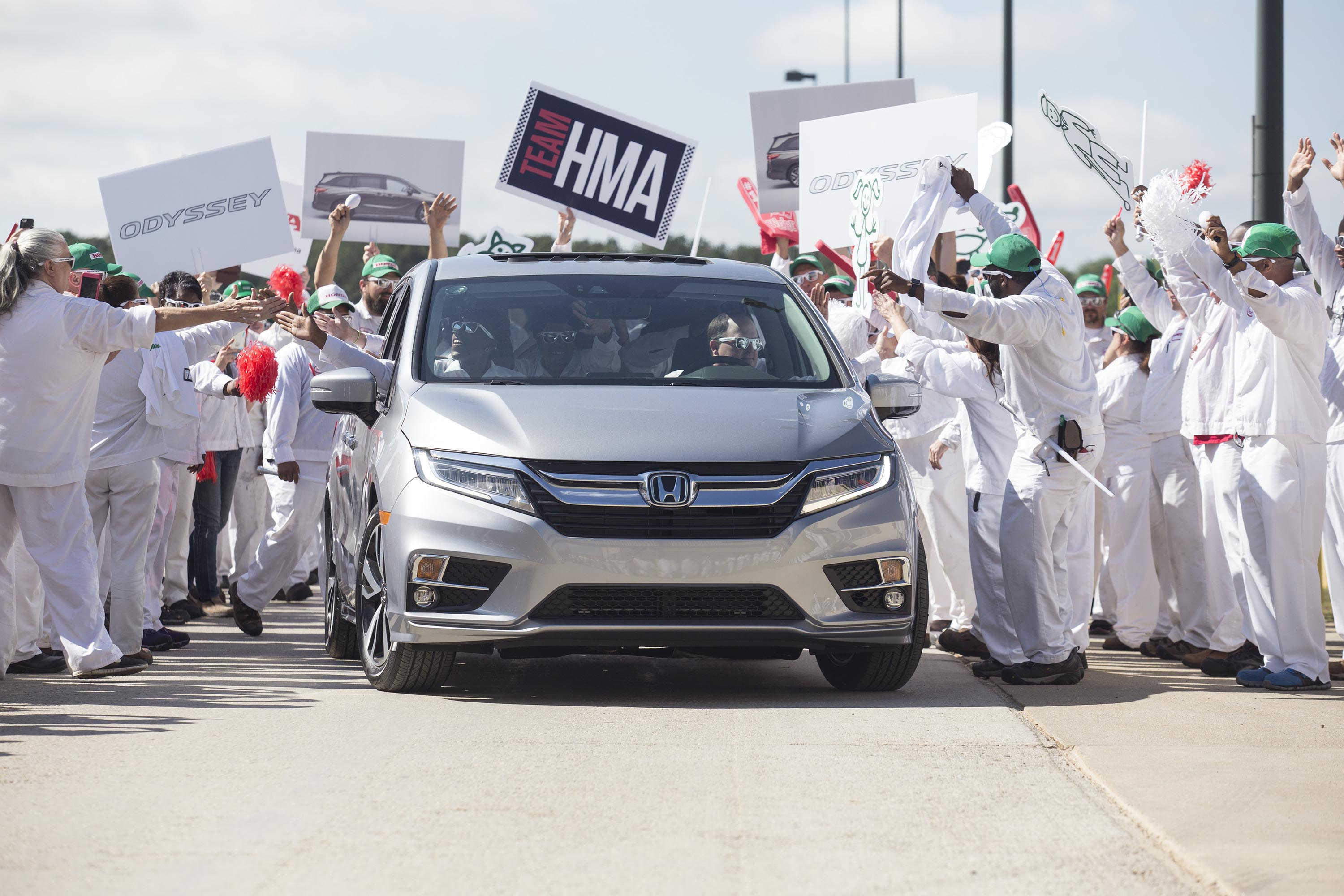 All New 2018 Honda Odyssey Minivan Begins Mass Production In Alabama
