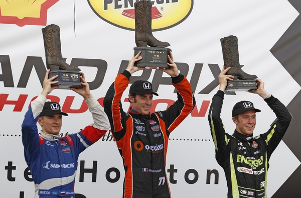 ​Honda completes Houston sweep