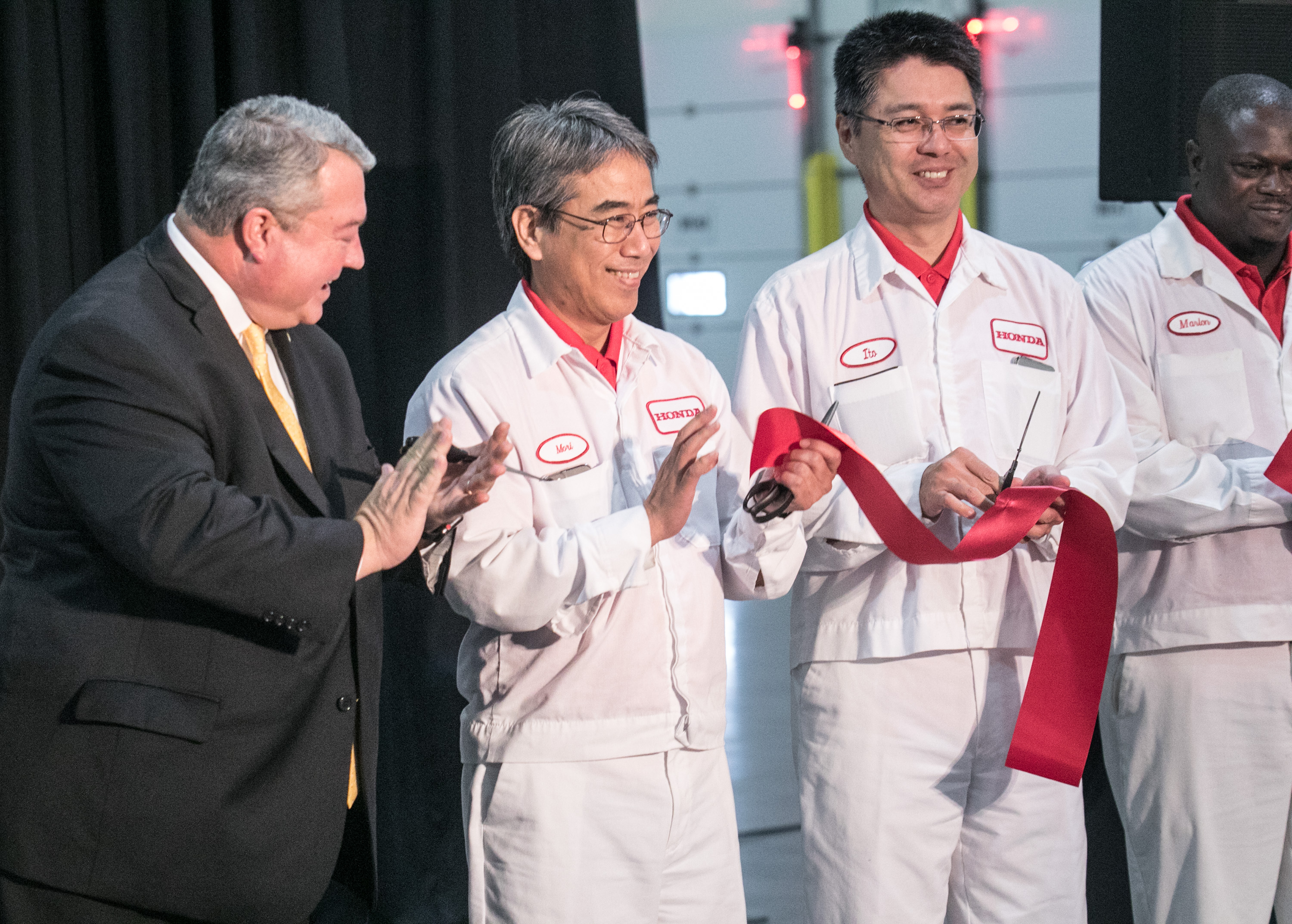 ​Honda Alabama Celebrates New $85 Million Logistics Buildings