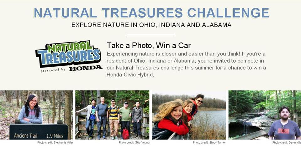 Honda, Nature Conservancy announce 'Natural Treasures' challenge