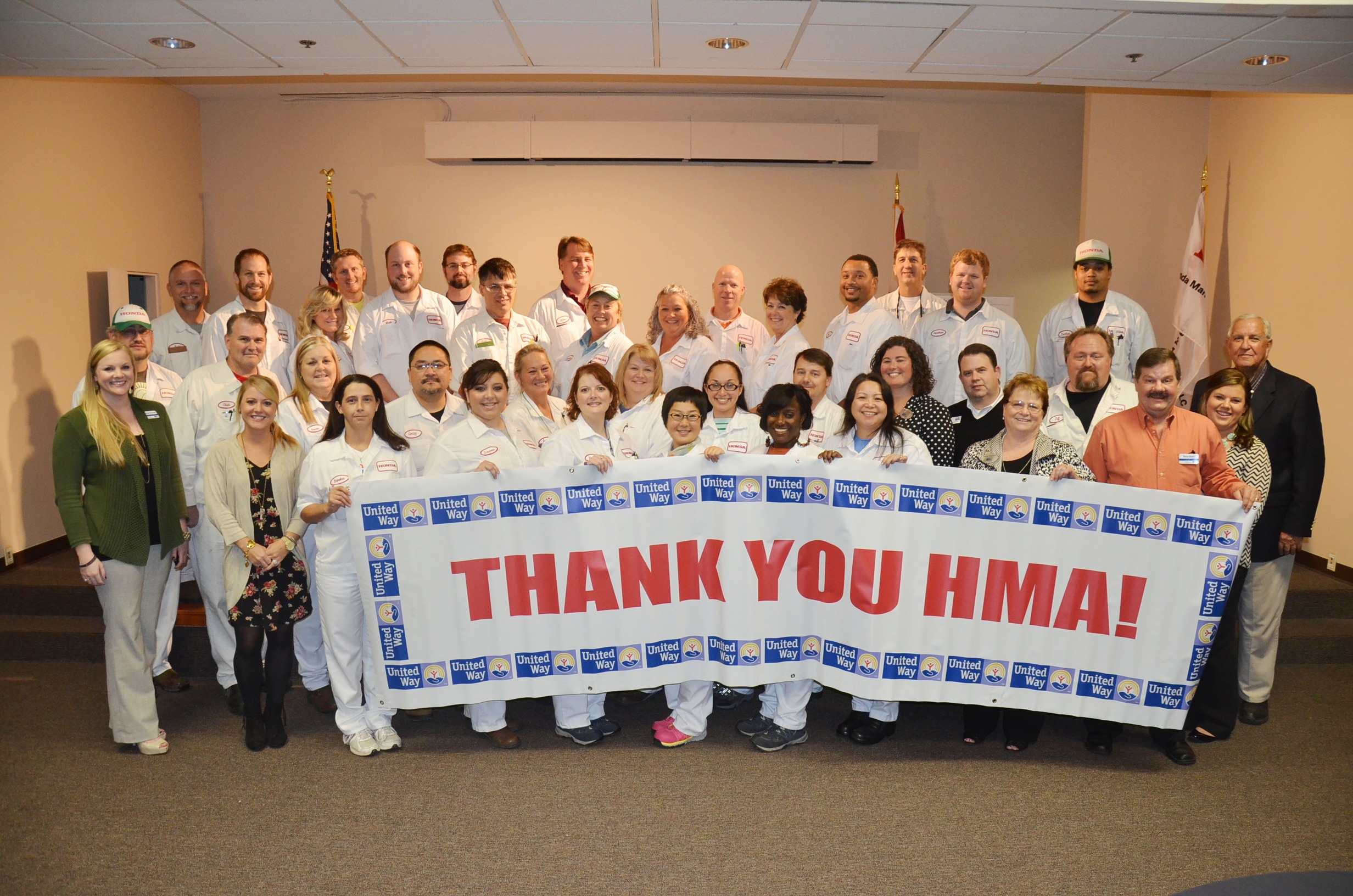 ​Honda's United Way Campaign earns over $450,000 for area agencies