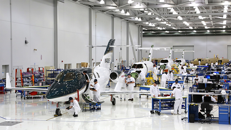 Production Progressing as Honda Aircraft Prepares for HondaJet Entry into Service