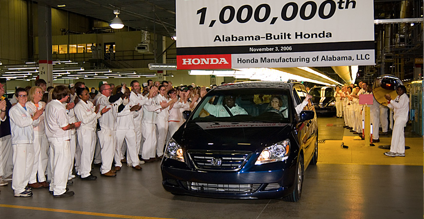 welcome to honda manufacturing of alabama